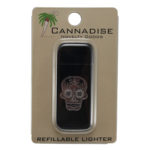 Sugar Skull Pot Leaf Lighter