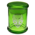 Marijuana Stash Jar Alien