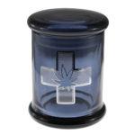 Marijuana Stash Jar Medical Cross