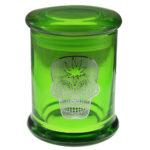 Marijuana Stash Jar Sugar Skull
